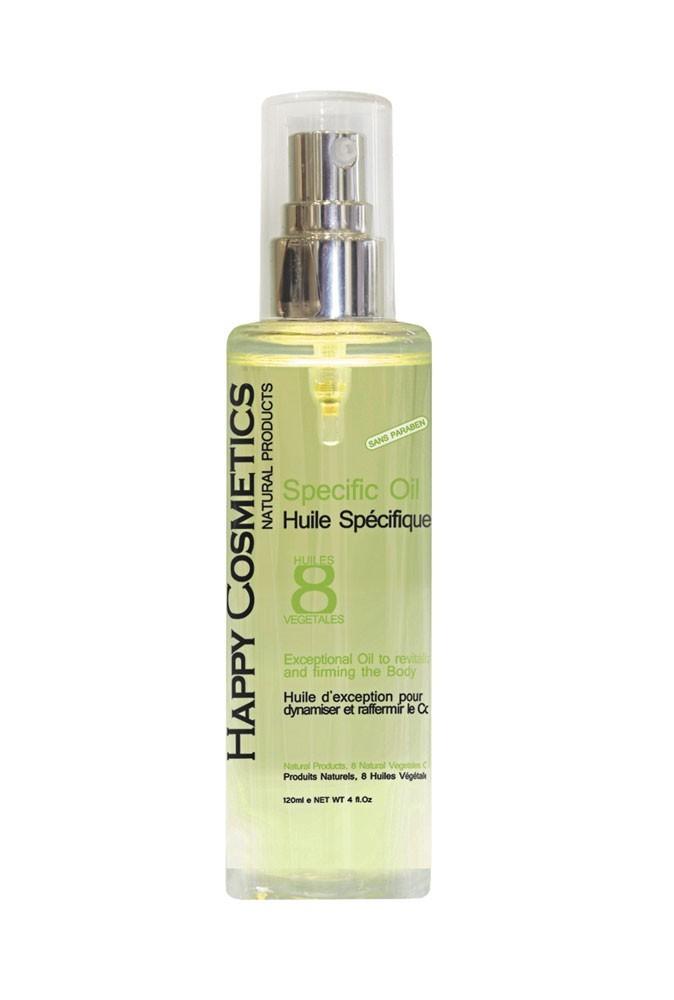 Produits minceur : on fait le plein d'huiles végétales avec l'Huile spécifique d'Happy Cosmetics !