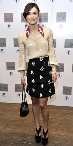Le régime de Keira Knightley, 49 kg : y a comme un os !