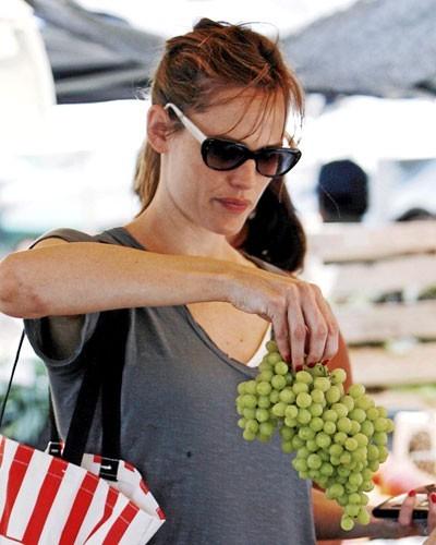Le régime de Jennifer Garner, 58 kg : diet food