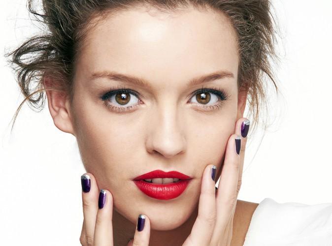 Découvrez notre tuto make-up spécial nail art purple rain !