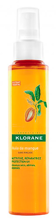 Pendant l'exposition : Huile de mangue réparatrice, Klorane 11,80€