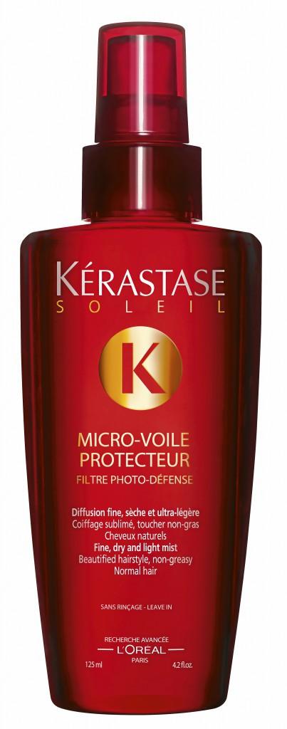 Pendant l'exposition : Micro-voile protecteur, Kérastase Soleil 25,25€
