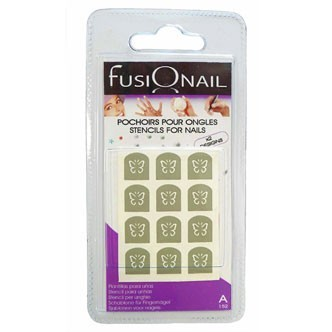 Vernis été 2011 : découvrez les pochoirs pour ongles Fusionail
