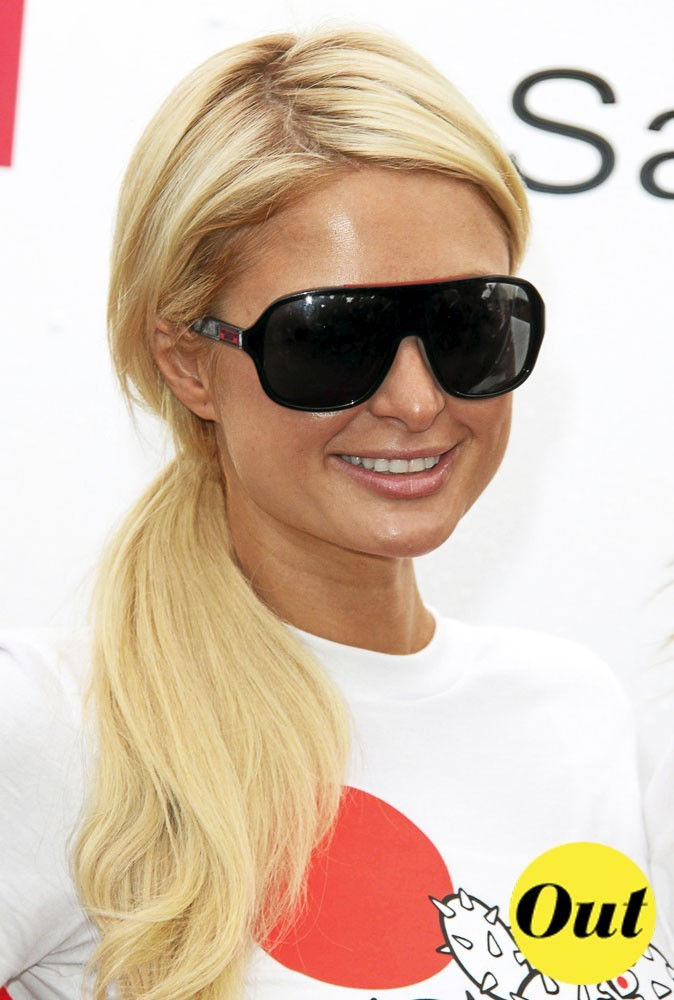 Les masques de Paris Hilton pour l'été 2011