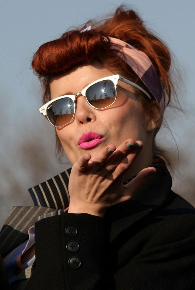 Les lunettes de soleil tendance vintage de Paloma Faith