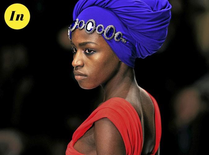 Les tendances beauté été 2011 : le turban intégral au défilé Issa, printemps-été 2011