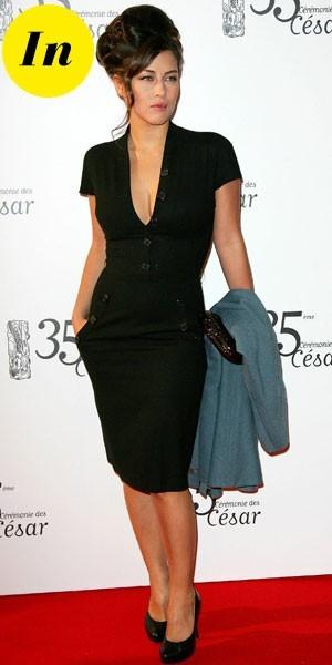 César 2010 : la robe décolleté de Mylène Jampanoï