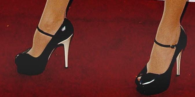 Des chaussures à talons avec un patin !