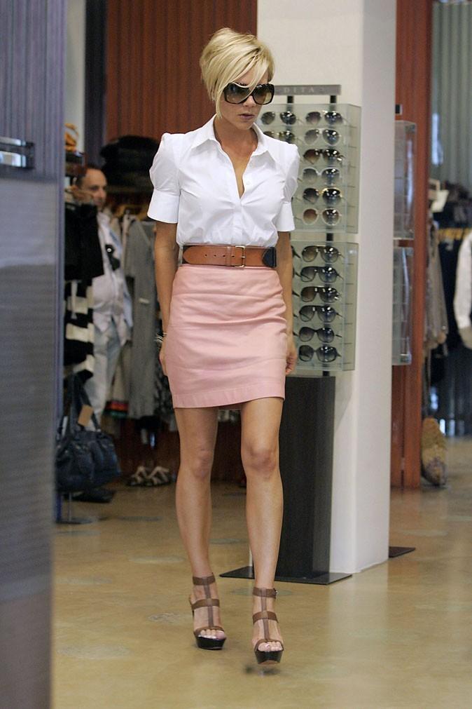 Victoria Beckham en mai 2007
