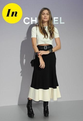 Elisa Sednaoui chez Chanel