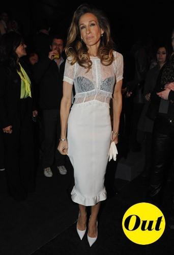 Sarah-Jessica Parker chez Louis Vuitton