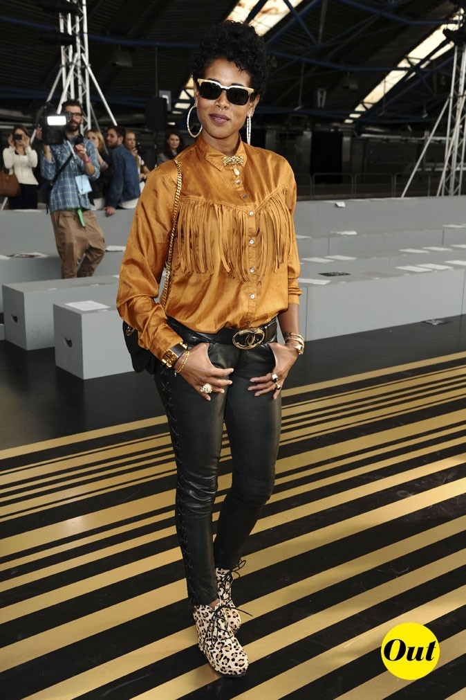 Fashion Week de Londres : Kelis au défilé Topshop Unique !
