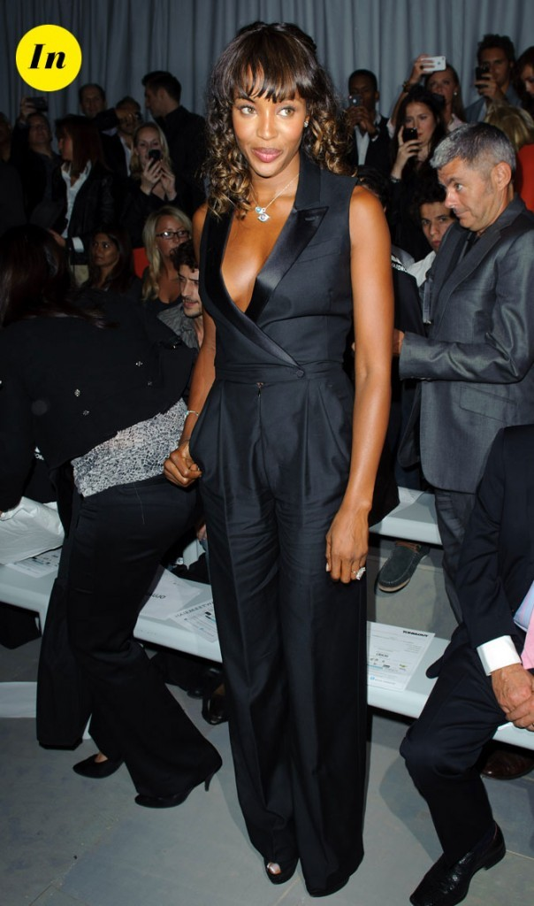 Fashion Week de Londres : Naomi Campbell au défilé Toni and Guy !
