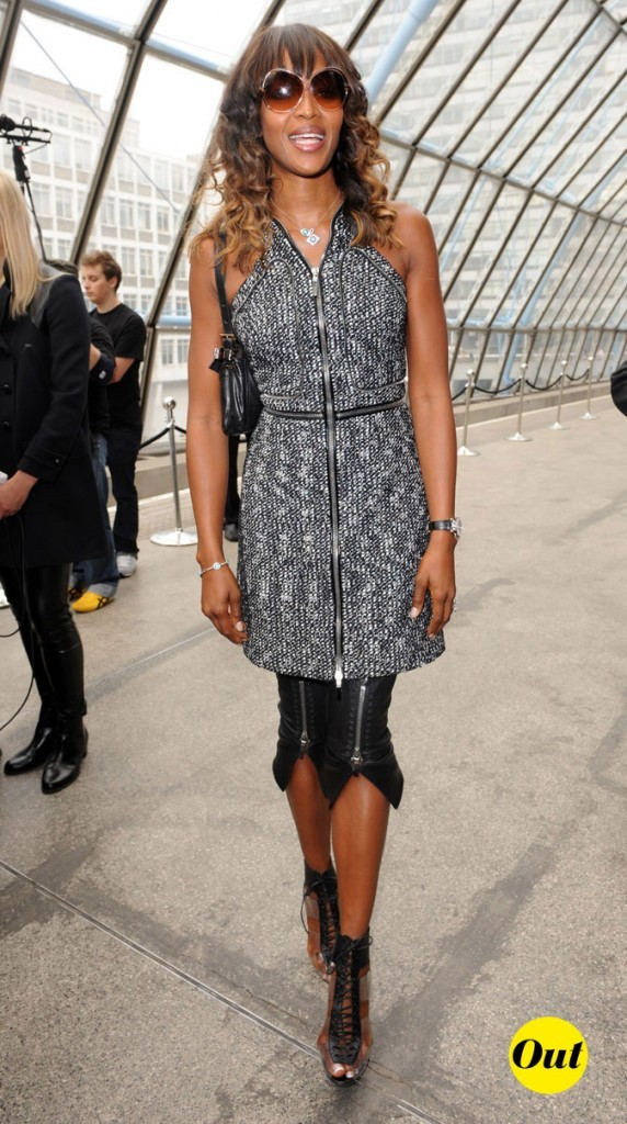 Fashion Week de Londres : Naomi Campbell au défilé Topshop Unique !