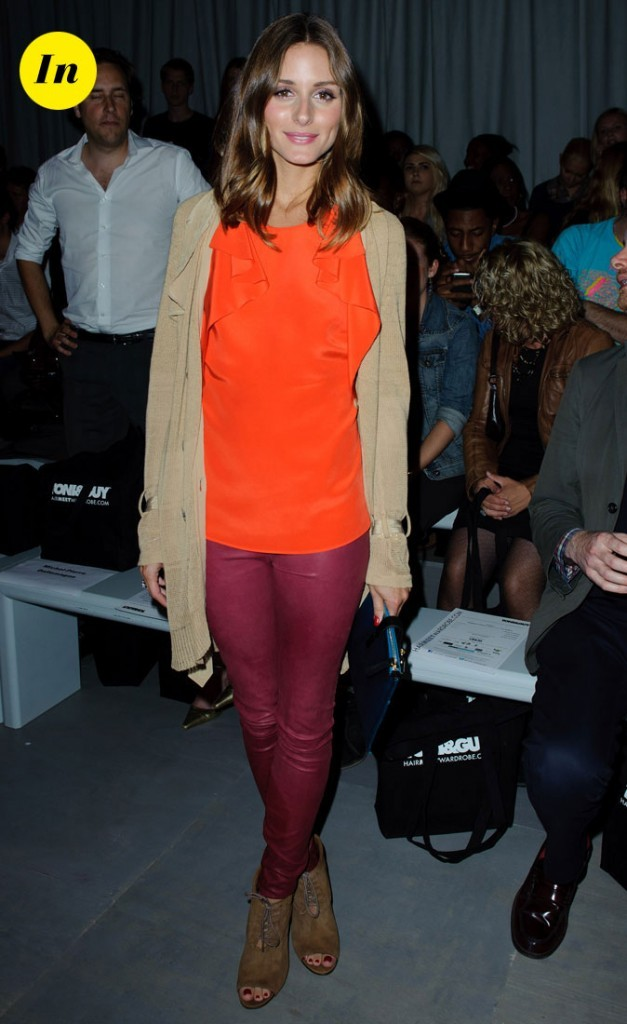 Fashion Week de Londres : Olivia Palermo au défilé Toni and Guy !