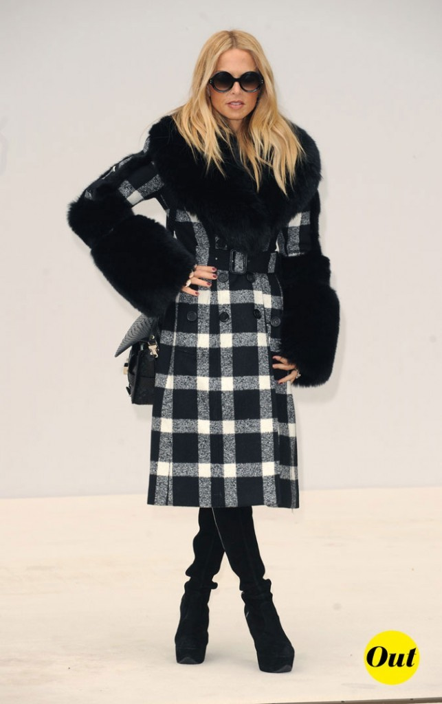 Fashion Week de Londres : Rachel Zoe au défilé Burberry !