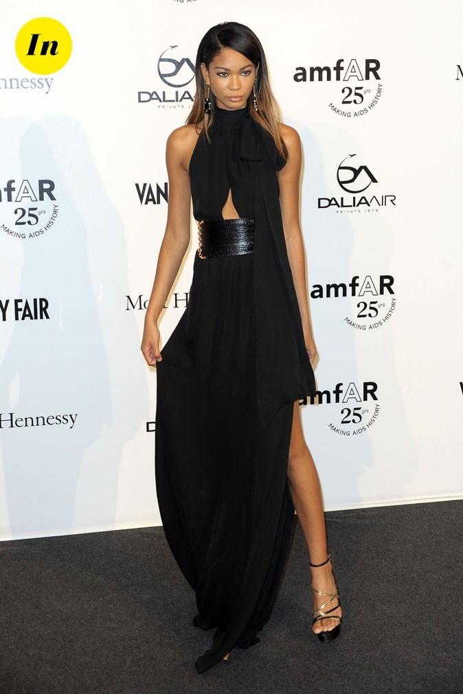 Fashion Week de Milan : Chanel Iman au gala de l'amFAR !