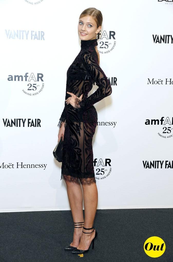 Fashion Week de Milan : Constance Jablonski au gala de l'amFAR !