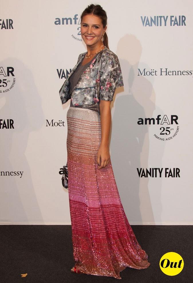 Fashion Week de Milan :  Margherita Missoni au gala de l'amFAR !