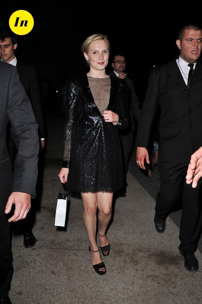 Ana Girardot au défilé Chanel