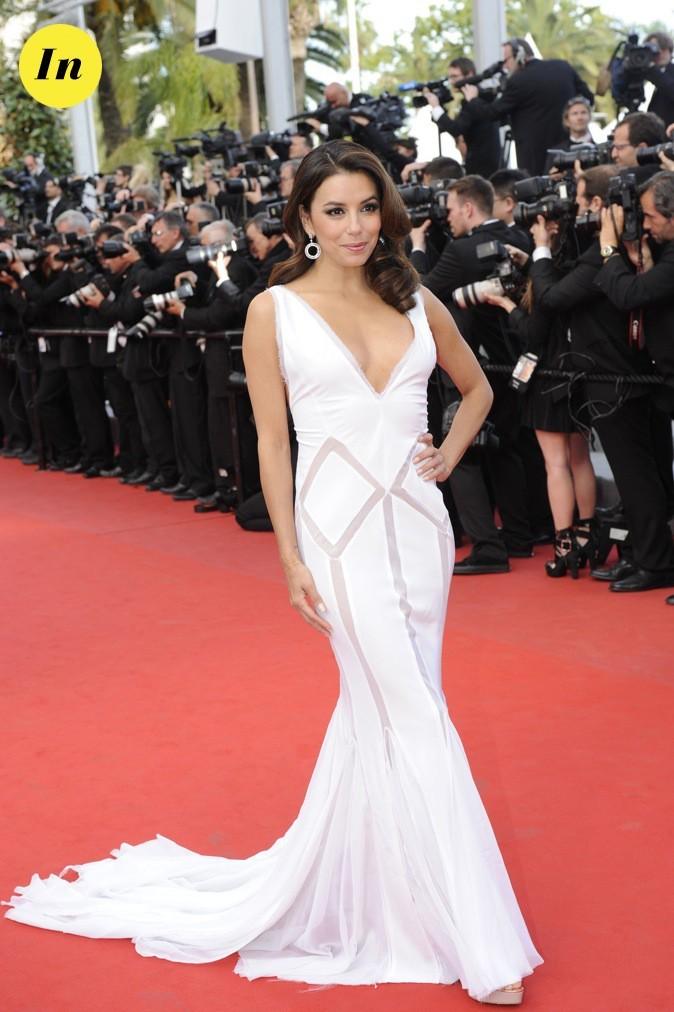 A Cannes, Eva Longoria est radieuse !