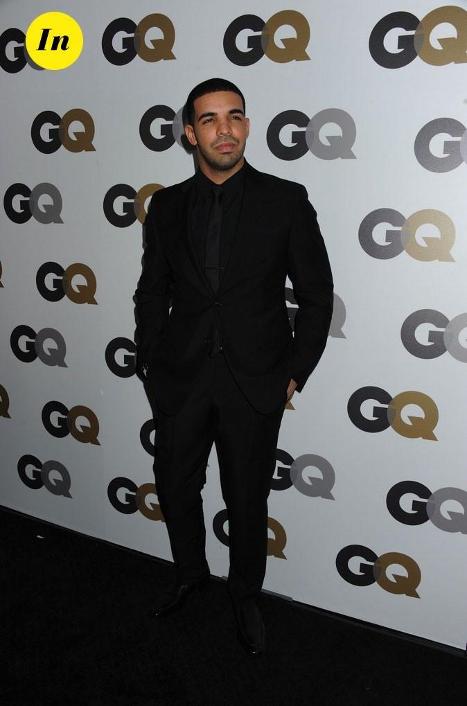 Drake : Classe et sobre en total look black