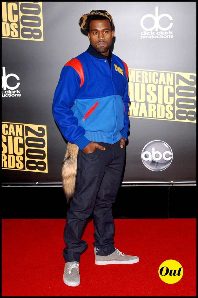 Kanye West : Gros bug au niveau style mi wild mi 80's