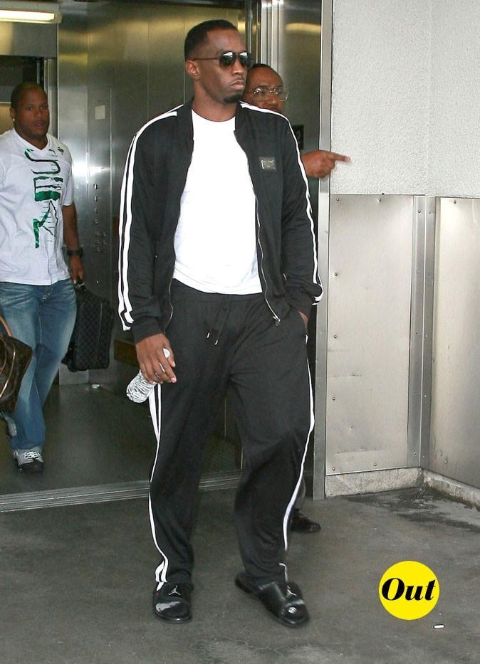 P.Diddy : Version décontracte en training! Next!