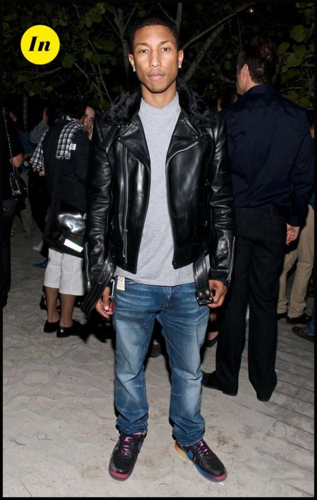 Pharrell Williams : Style hip and rock! NERD