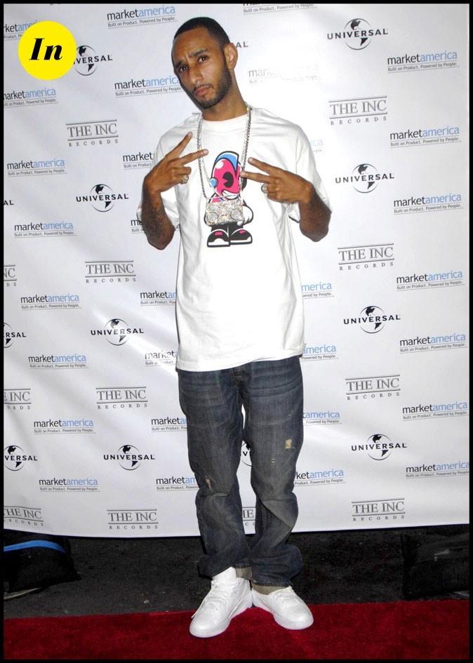 Swizz Beatz : T-shirt xxl bling bling, la panoplie du rappeur us!