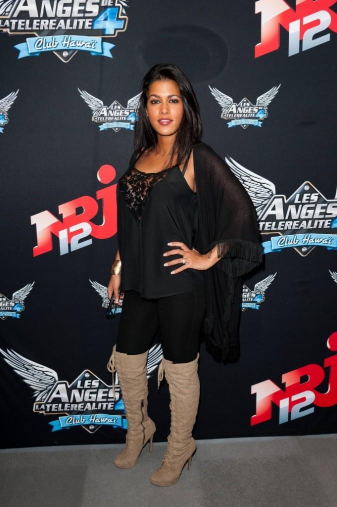 2012: Pour la conférence de presse des Anges de la télé-réalité 4