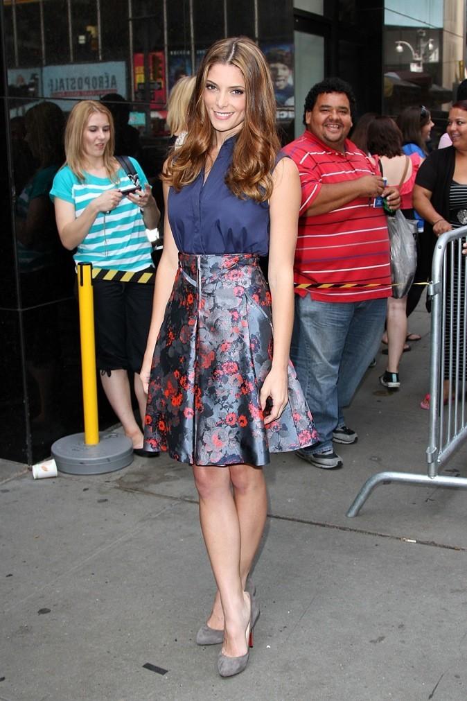 Ashley Greene stylée à New-York !