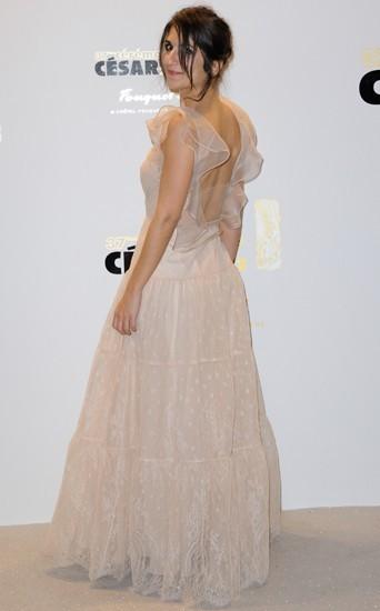 En robe de princesse pour la 37ème cérémonie des Césars
