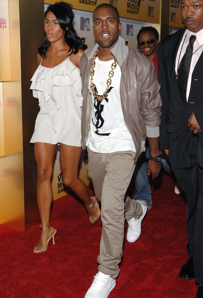 2006: Avec sa compagne aux MTV Video Music Awards