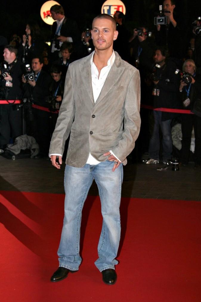 2007:  Aux NRJ Music Awards à Cannes