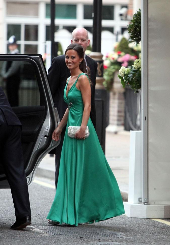 Pippa Middleton en avril 2011 pour le mariage de Kate et William