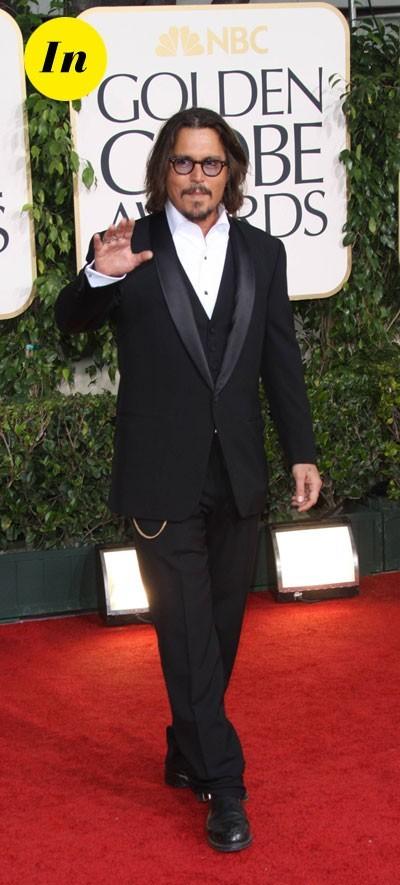 Look de Johnny Depp : costume trois pièces en 2011