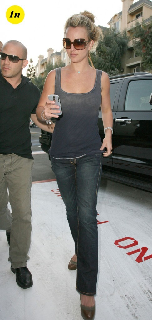 Photo : le look jean classique de Britney Spears