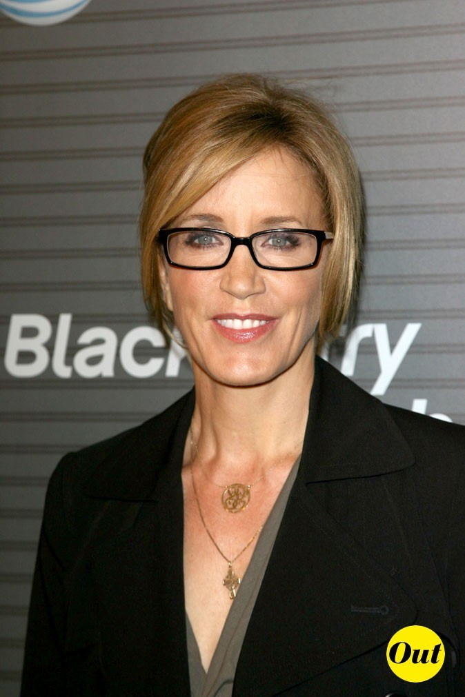 Les lunettes de vue tendance Wayfarer de Felicity Huffman