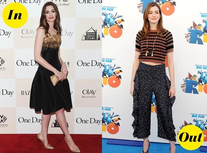 Le CV fashion d'Anne Hathaway, un bilan mitigé !