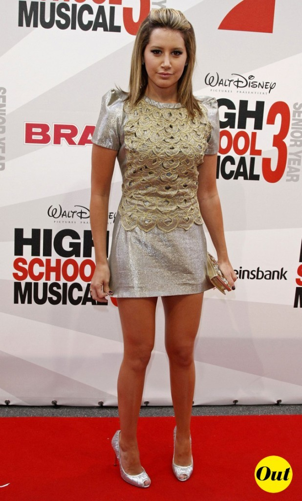 2008 : Ashley Tisdale à l'avant première d'High School Musical 3 !