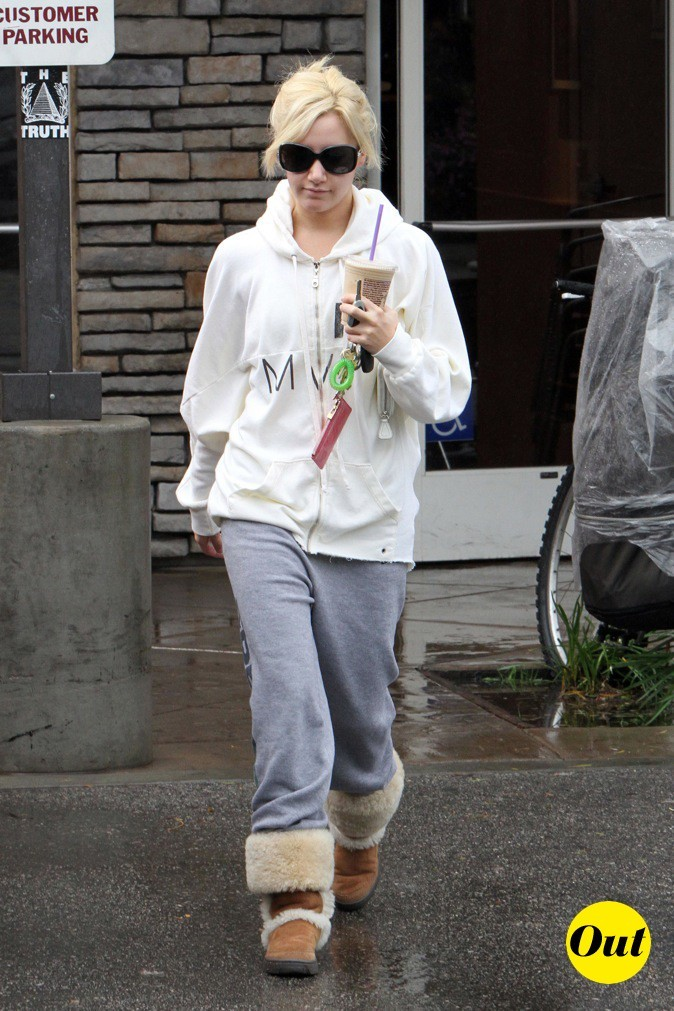 Ashley Tisdale : look sporty !