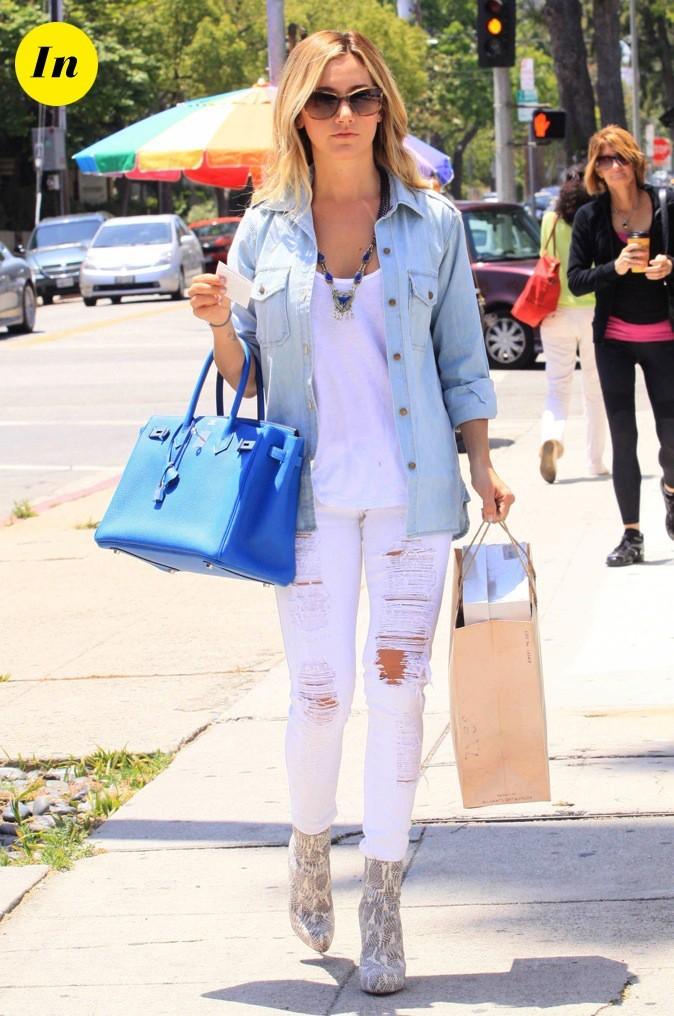Son sac Hermès : elle l'adore !