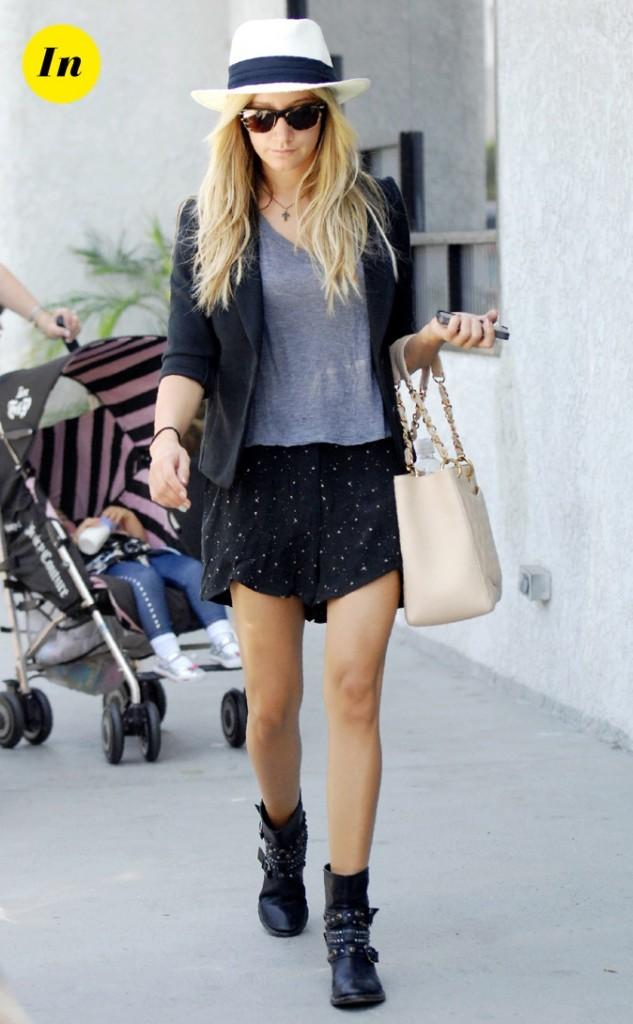 Une fashionista à la pointe de la mode !