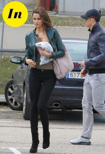 Irina Shayk et son sac Chloé en mars 2011.