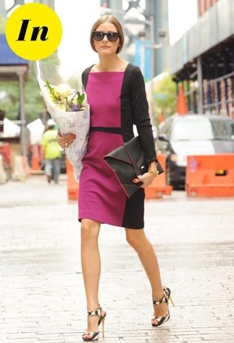 Quand la pochette Reiss est associé à une robe Narciso Rodriguez c'est beaucoup mieux !