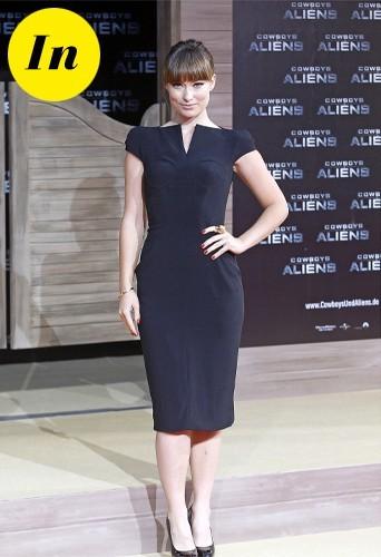 Dans une petite robe noire Olivia est top !