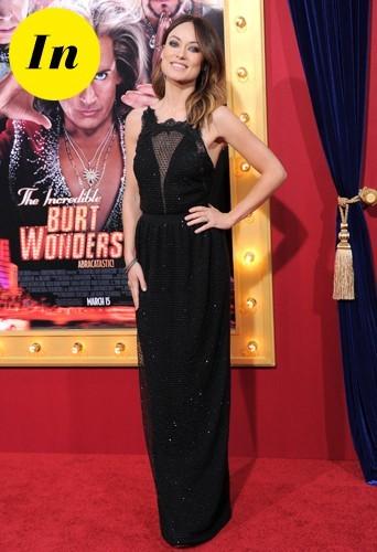 Olivia sculptée à la perfection dans sa robe Gucci !