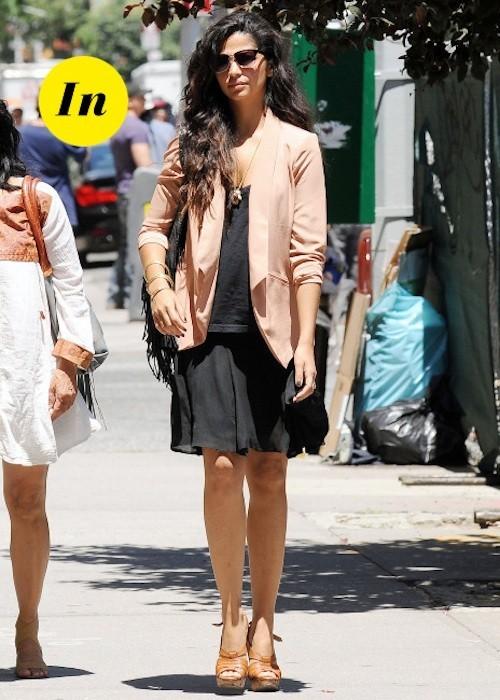 Camila Alves porte tout ce qu'il y a de plus simple et on lui donne le feu vert !