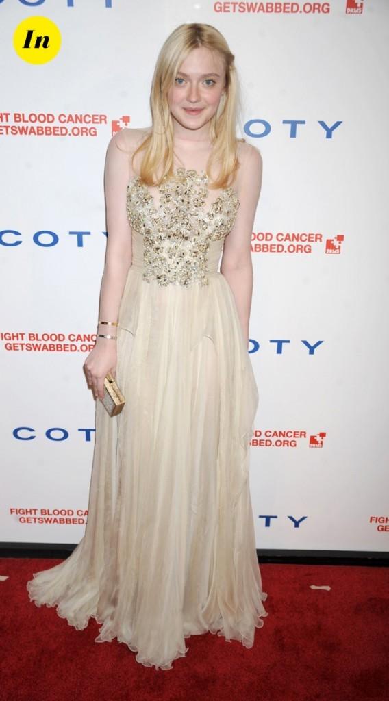 Avril 2011 : ses robes sont plus belles les unes que les autres...